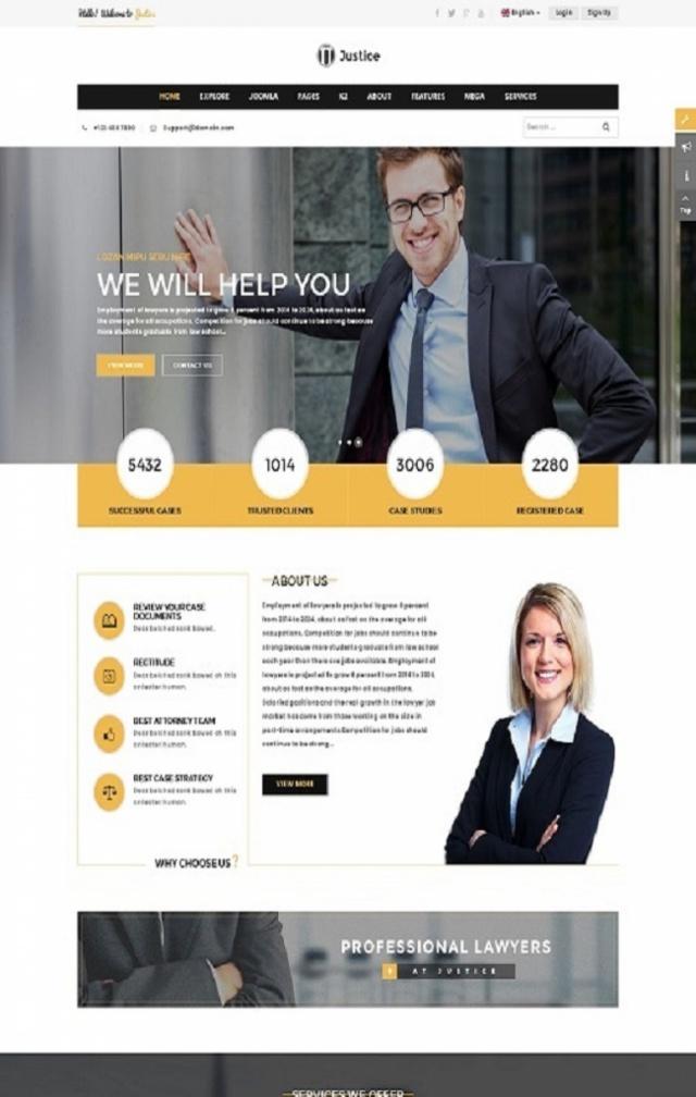 Web giới thiệu công ty