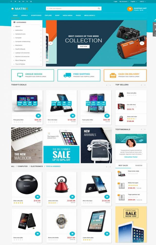 Web bán camera