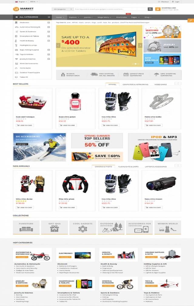Web bán phụ kiện