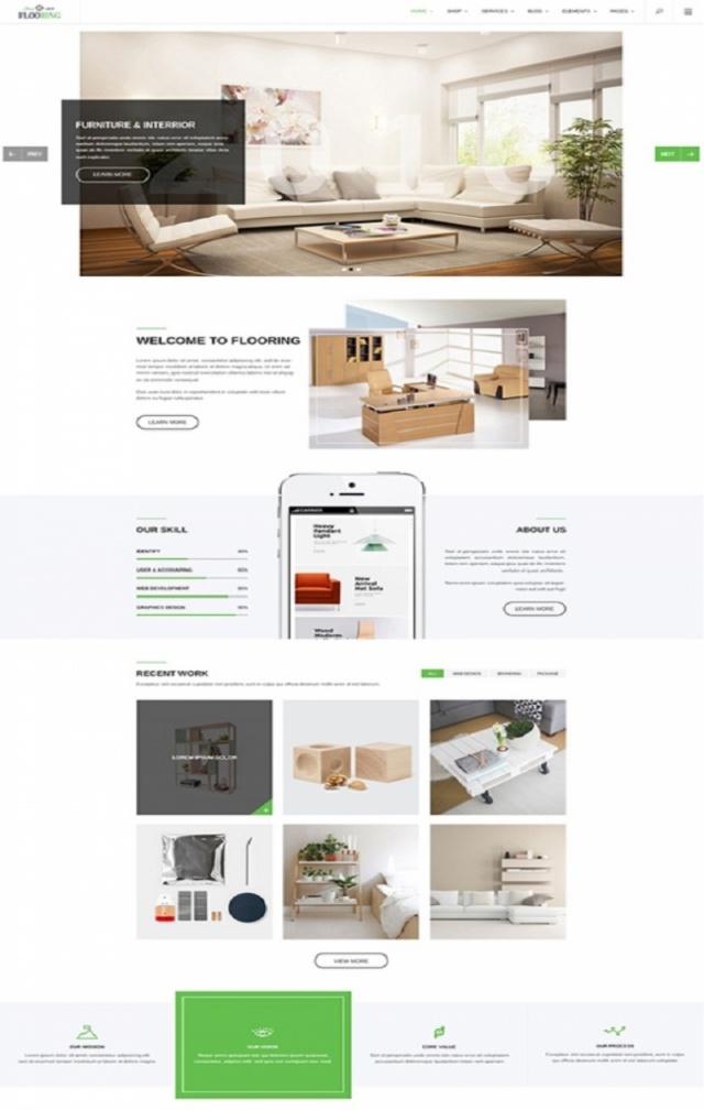 Web bán vật liệu xây dựng