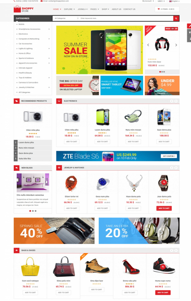 Web bán máy tính