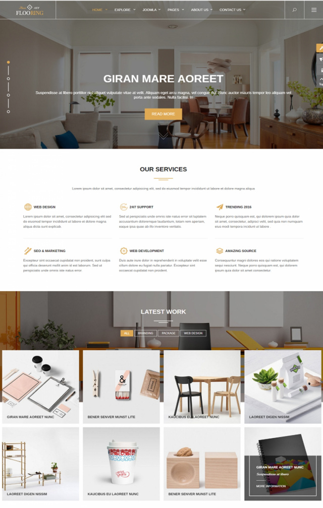 Web bán hàng xây dựng